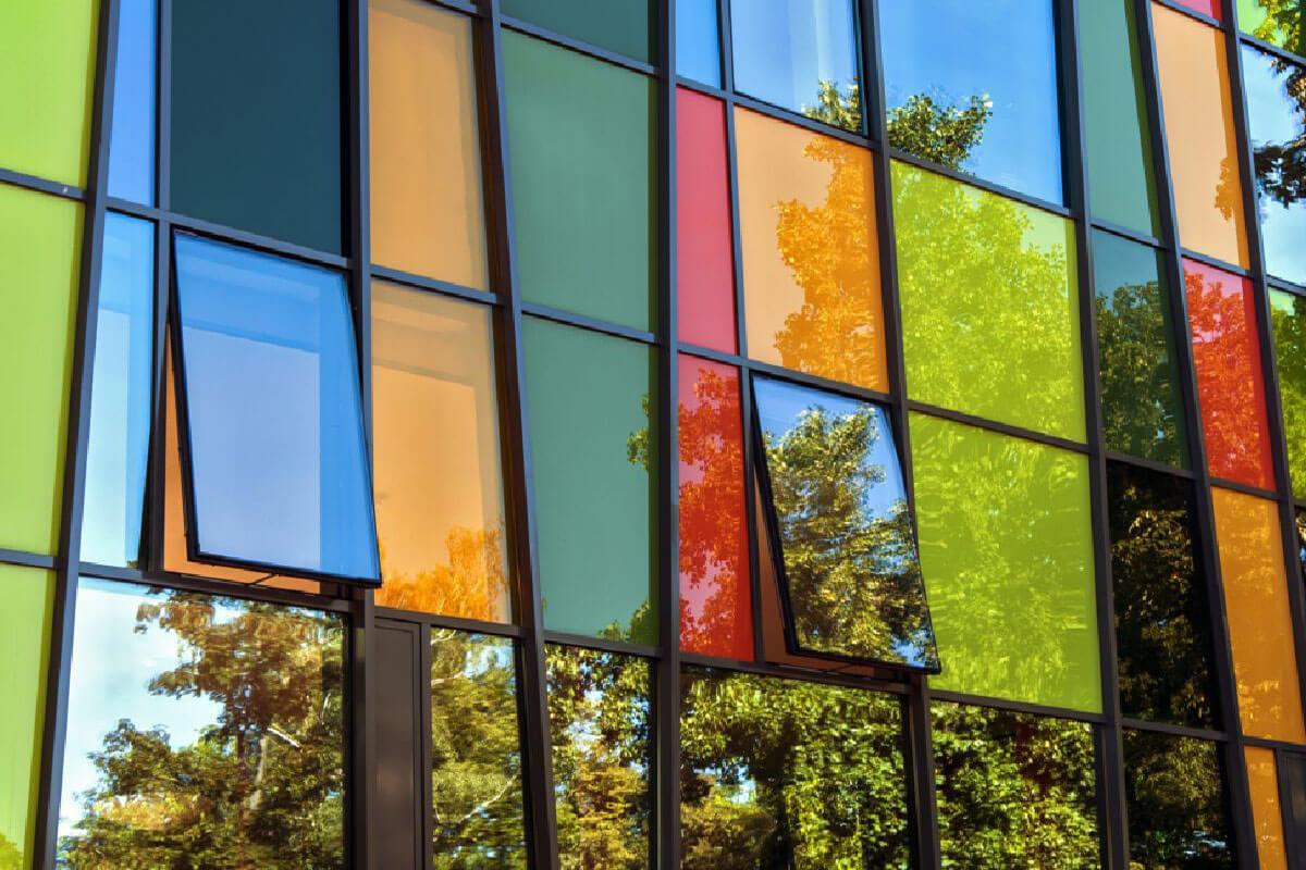 Coloured Aluminium Windows West Midlands